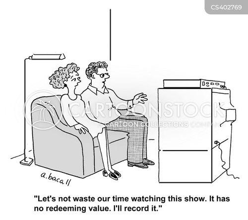 recordings cartoon