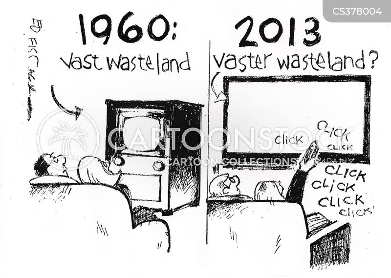 wastelands cartoon