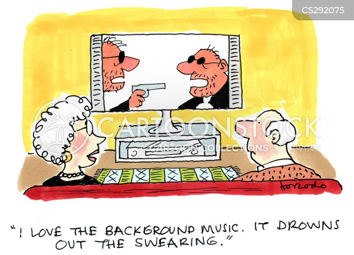 background music cartoon