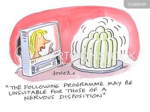 wobbly cartoon