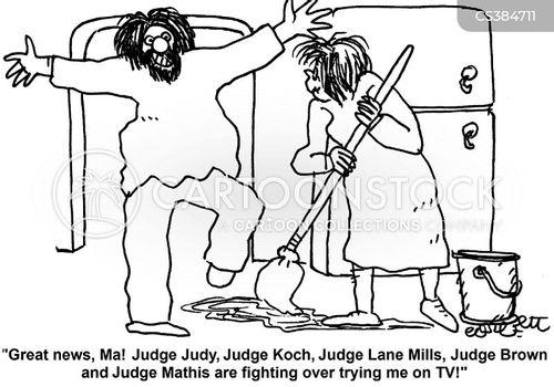 judge judy cartoon