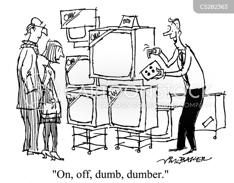 tv stores cartoon