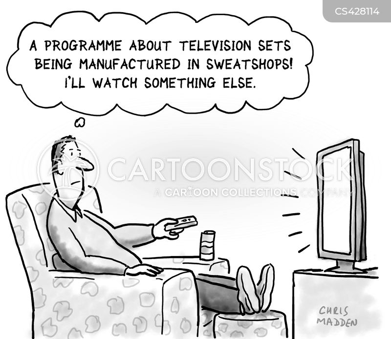 sweatshops cartoon