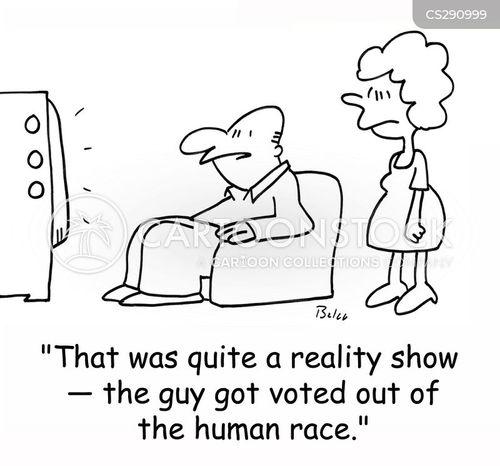 tv vote cartoon