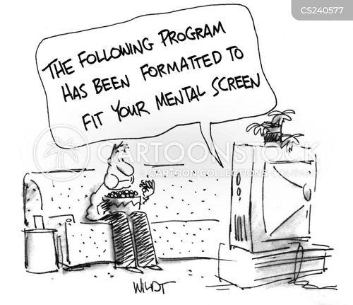 format cartoon