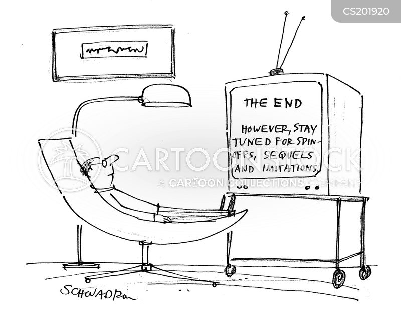 ends cartoon