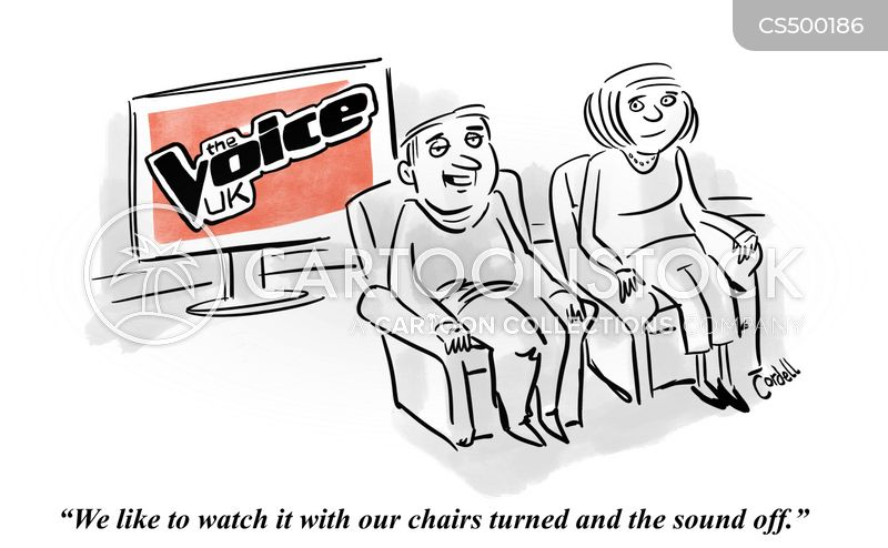 the voice cartoon