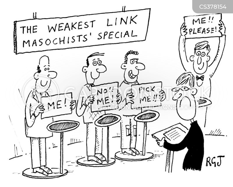 weakest link cartoon