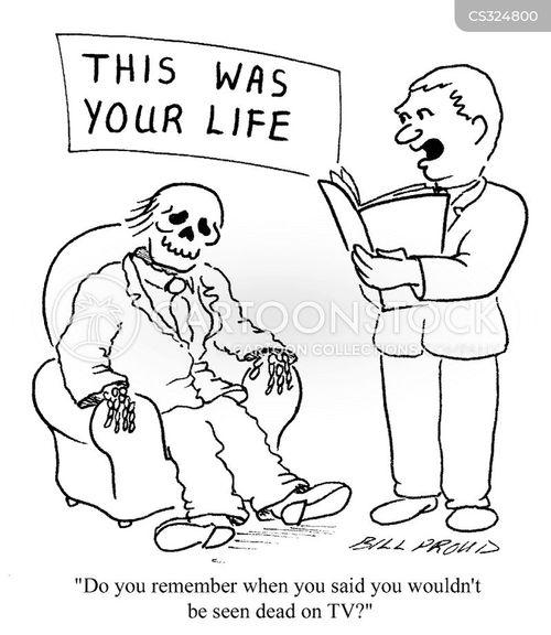 recalling cartoon