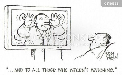 pulling faces cartoon