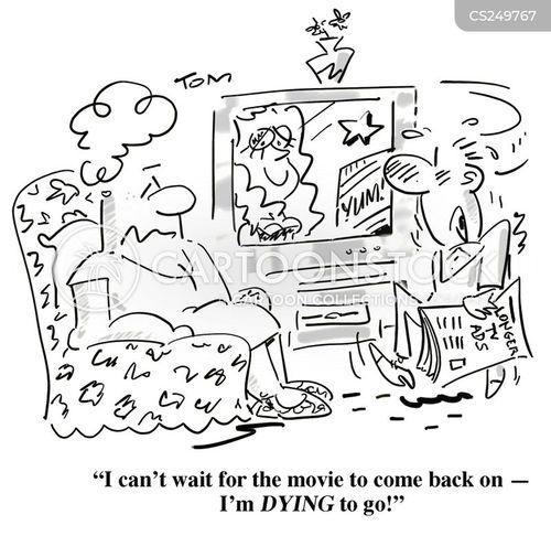 advert break cartoon