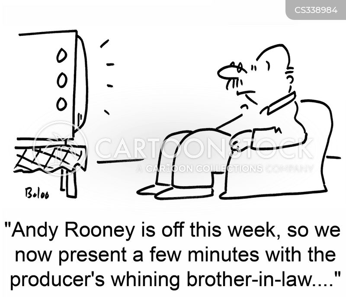 andy rooney cartoon