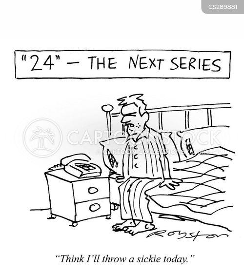 thriller cartoon