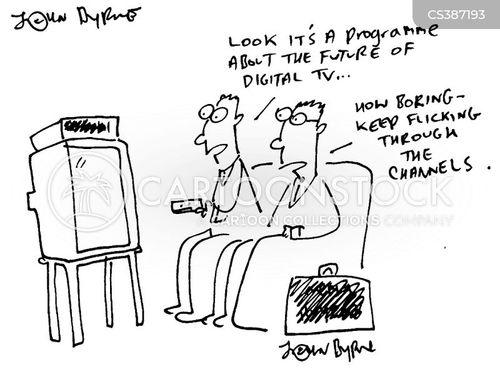 flicking cartoon