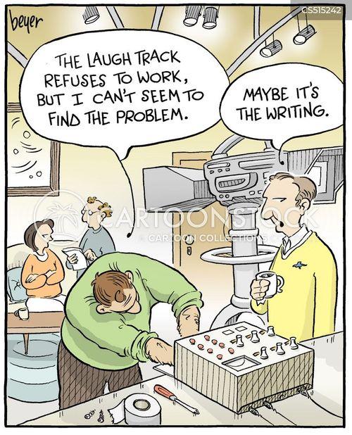bad writing cartoon