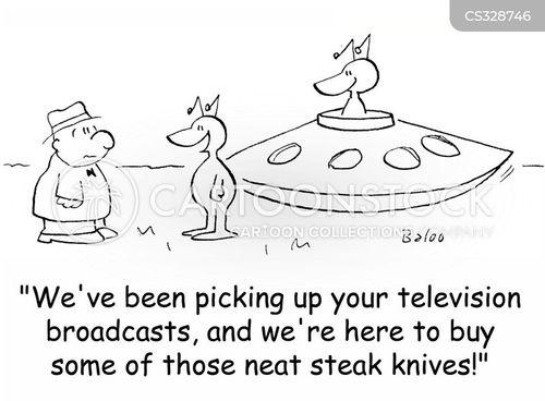 tv advertising cartoon