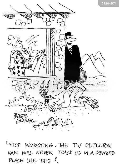 tv license cartoon