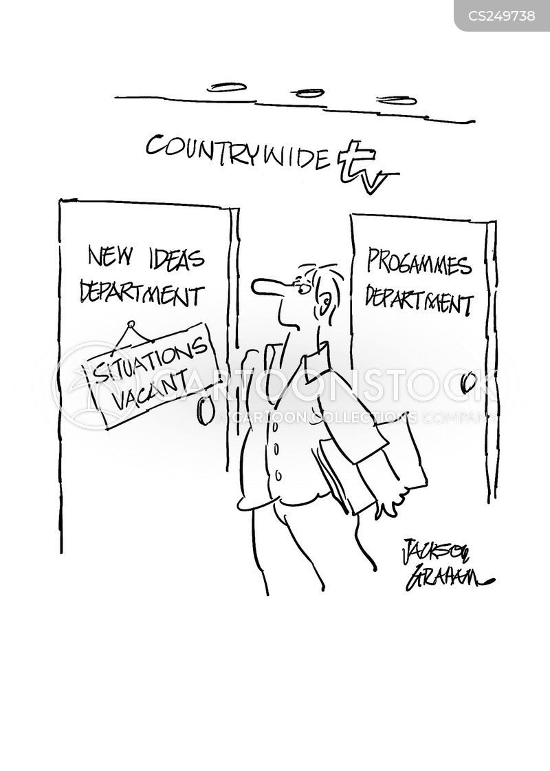 situations vacant cartoon
