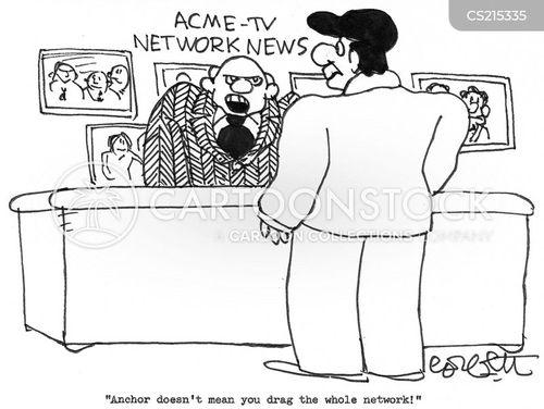 tv networks cartoon