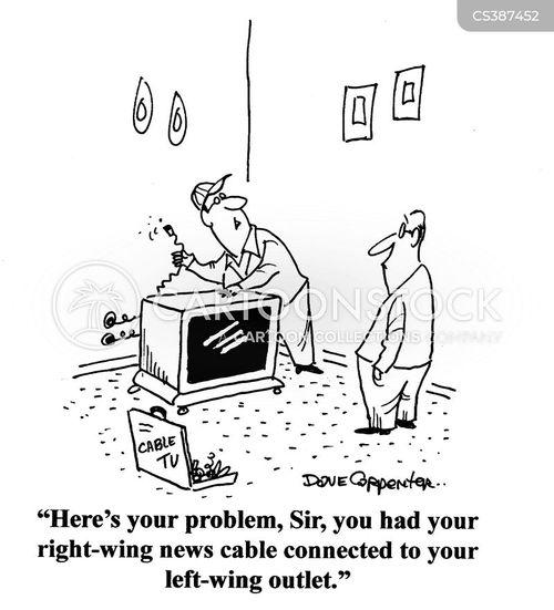 tv repair cartoon