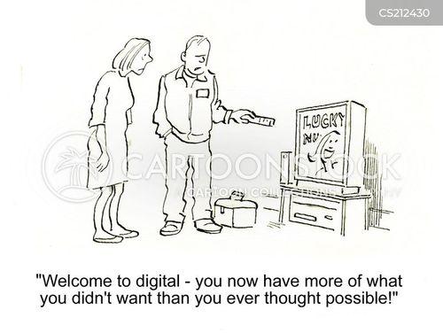 digital show cartoon
