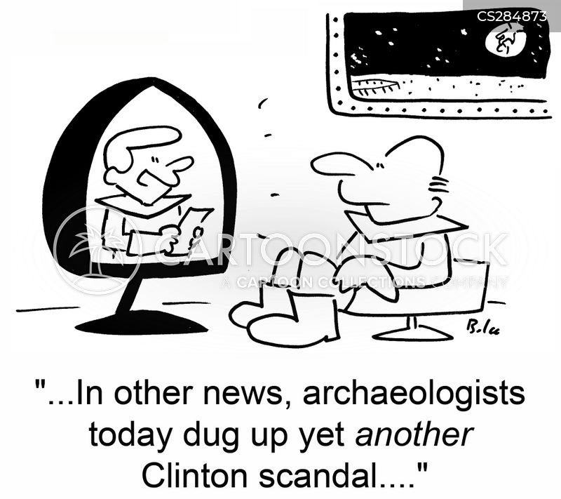 dig up cartoon