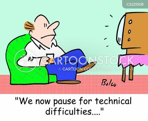 pauses cartoon