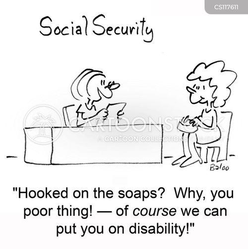 disability benefit cartoon