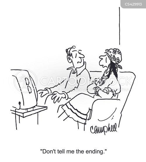 spoilers cartoon