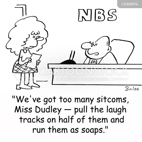 laughter track cartoon