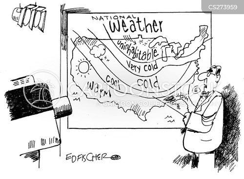 cold climate cartoon