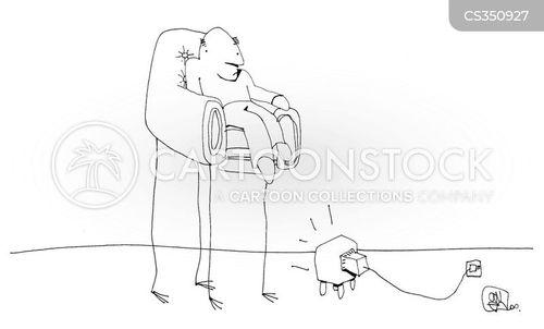 tv viewing cartoon