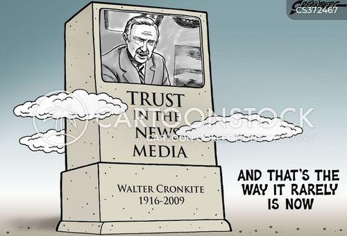 american journalist cartoon