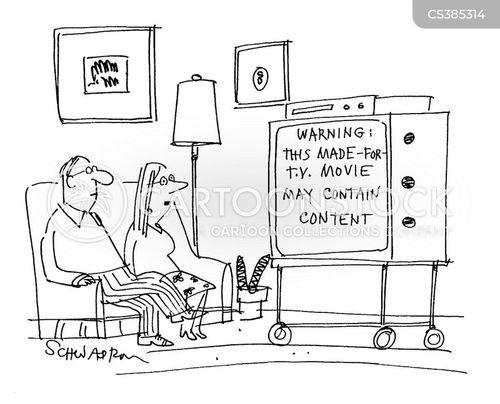 disturbing content cartoon