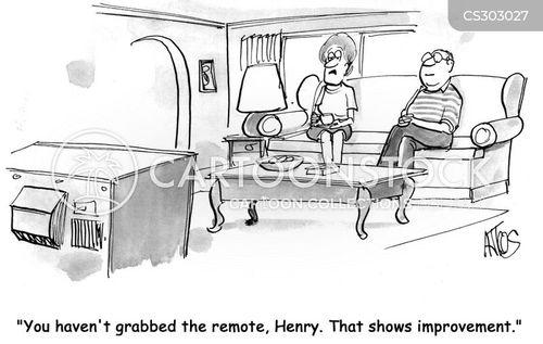 agression cartoon