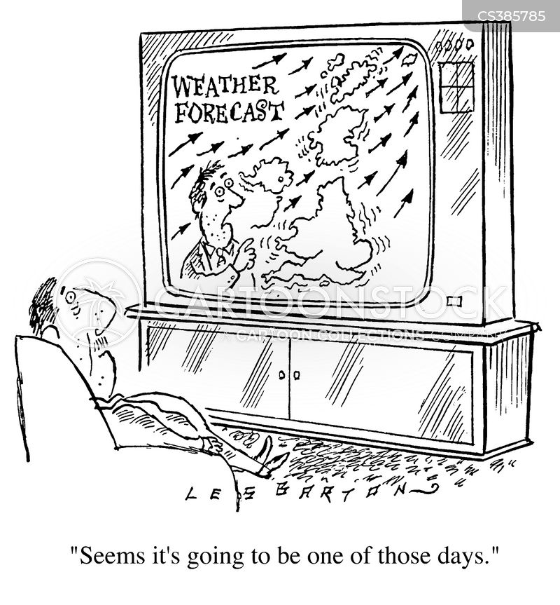 weather forcast cartoon