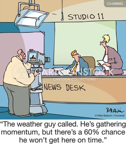 news update cartoon
