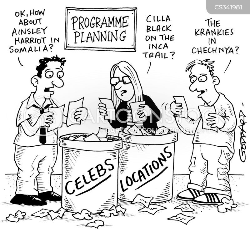 planning programmes cartoon