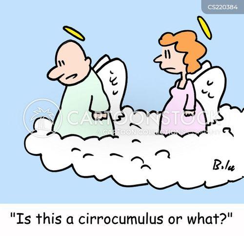 cloud formation cartoon