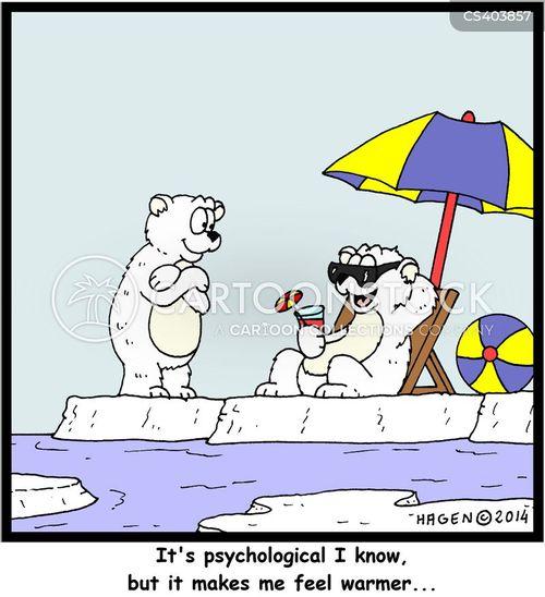 sunbaths cartoon