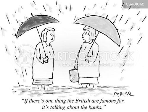 bank crisis cartoon