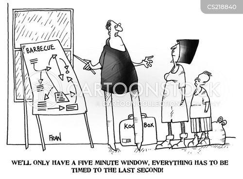 five minute window cartoon