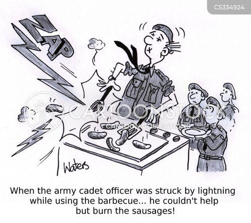 cadet cartoon