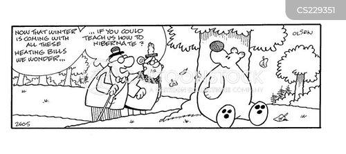 central heating cartoon