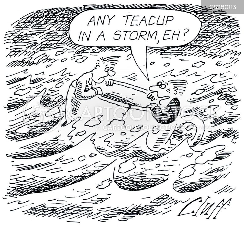 any port in a storm cartoon
