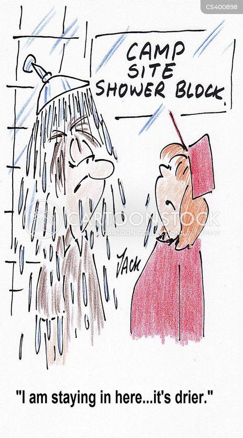 british summer-time cartoon