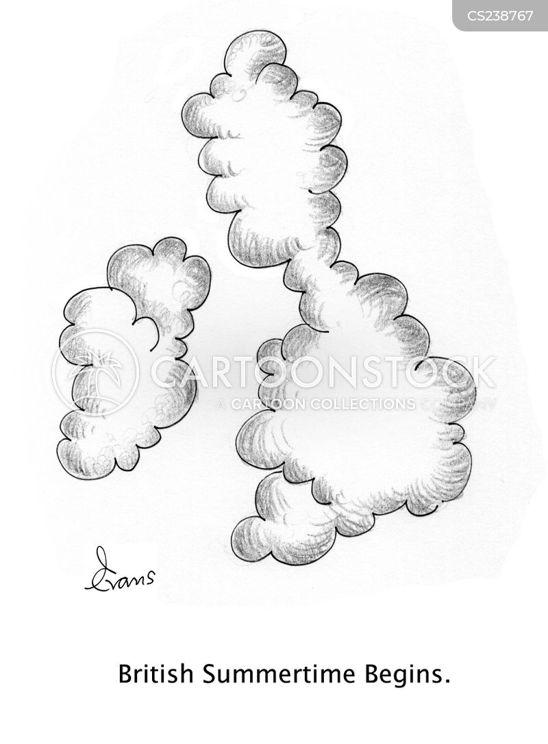 storm cloud cartoon