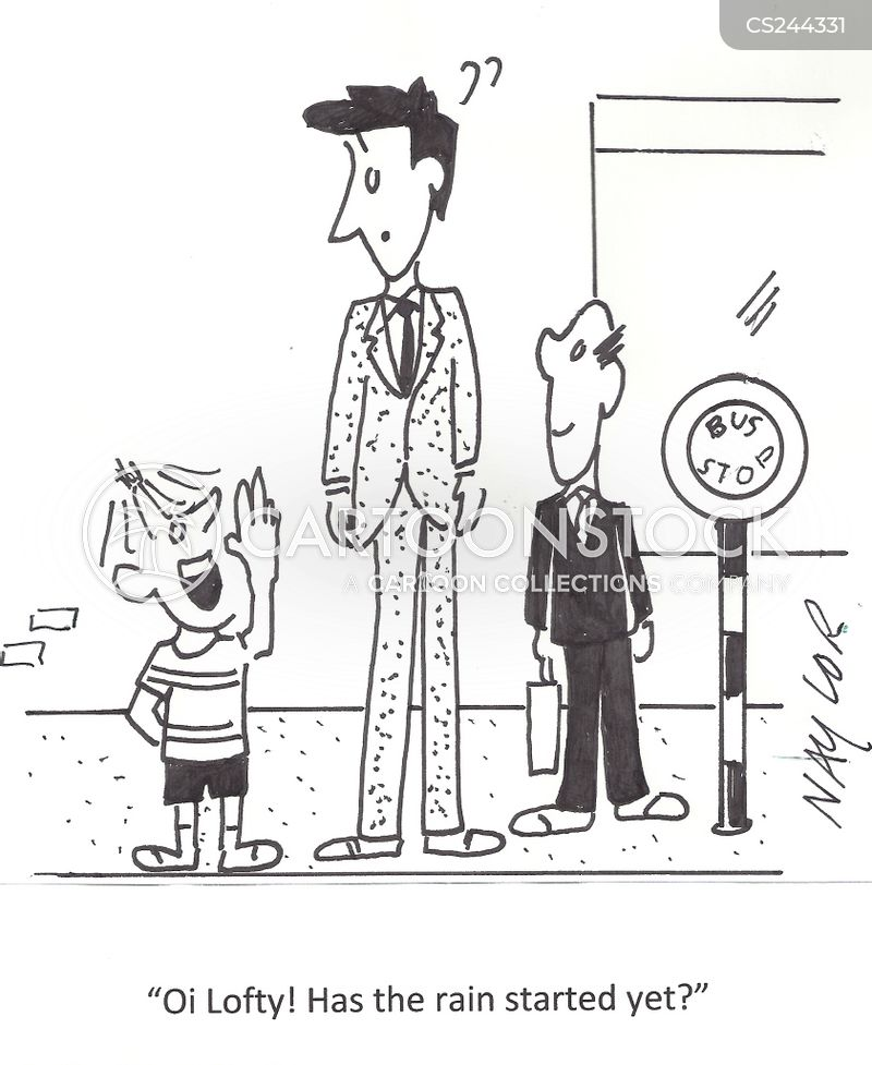 height differences cartoon