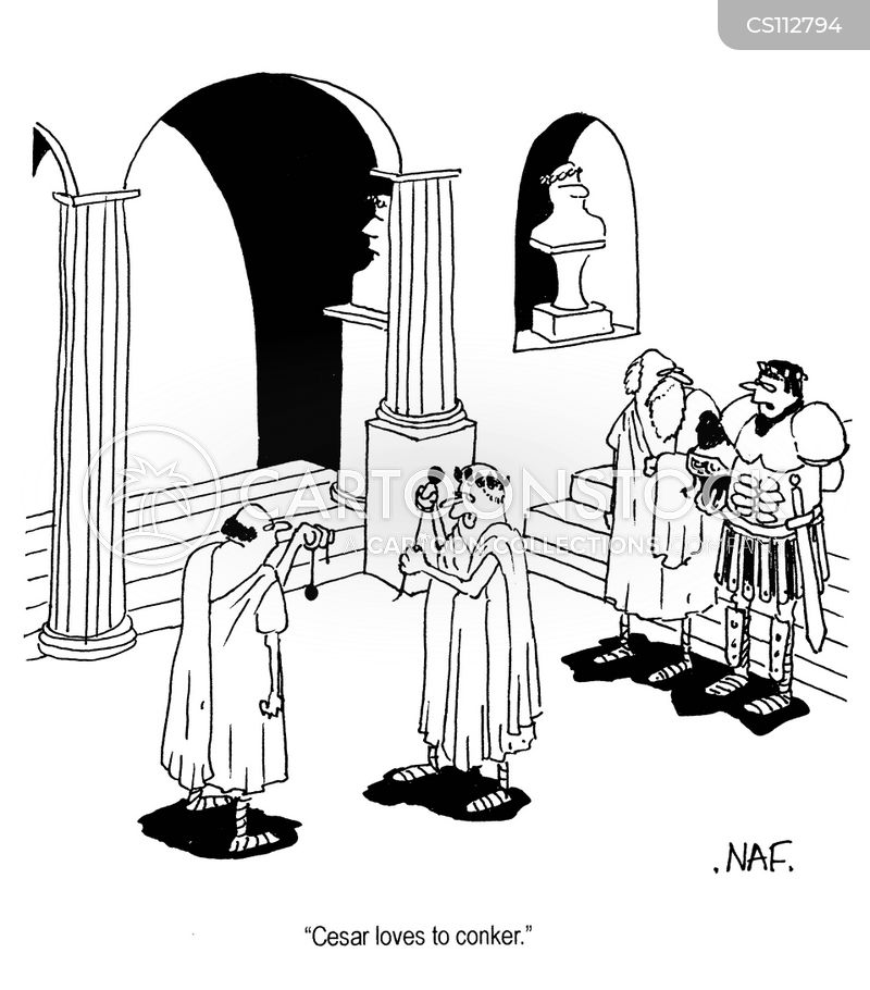 julius ceasar cartoon