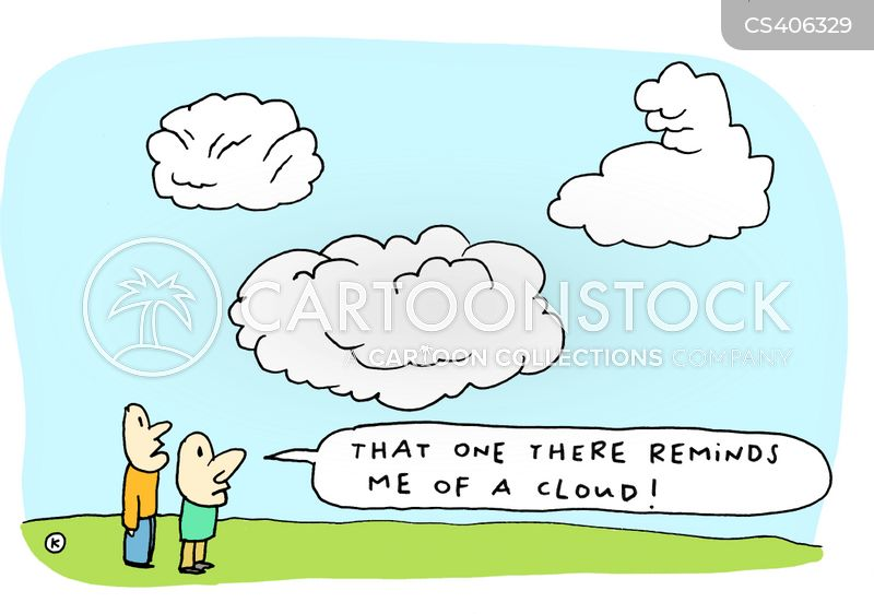 cloud-spotter cartoon